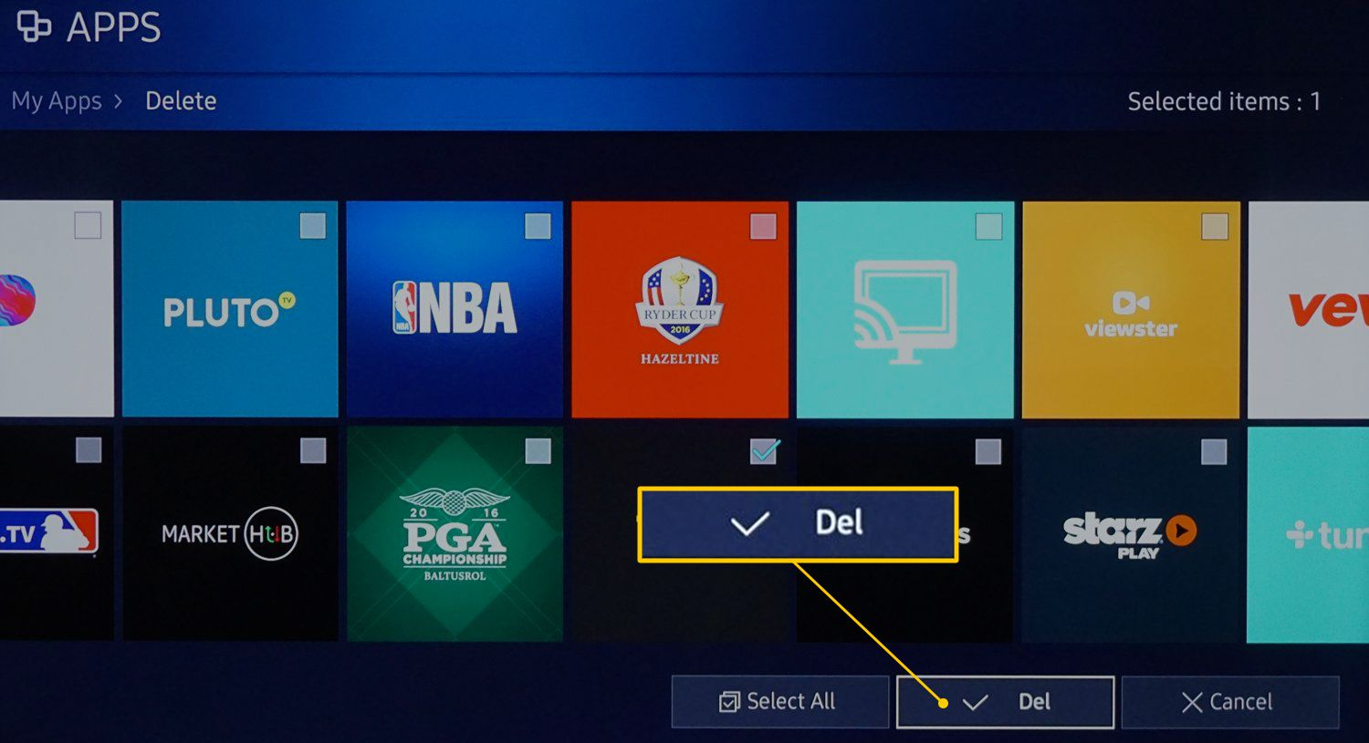How to Delete Apps on a Samsung Smart TV