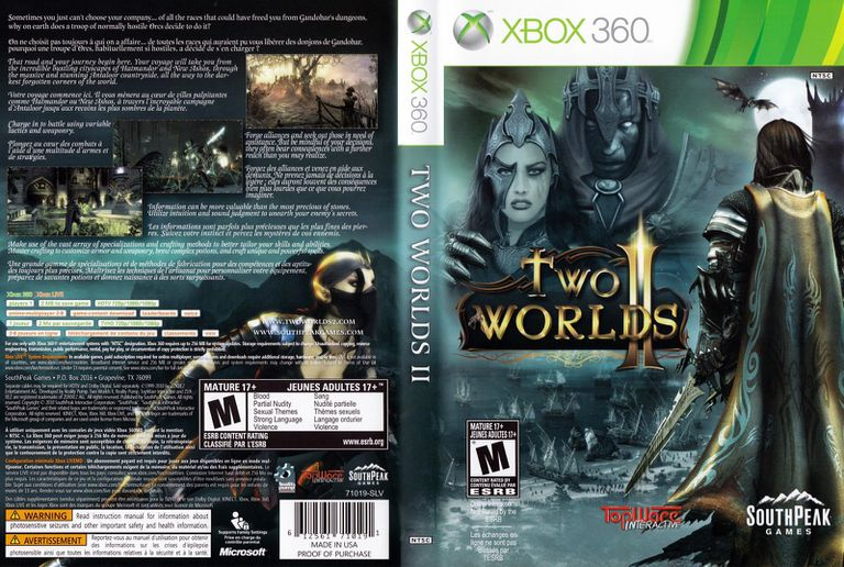Two Worlds for Xbox 360 box art