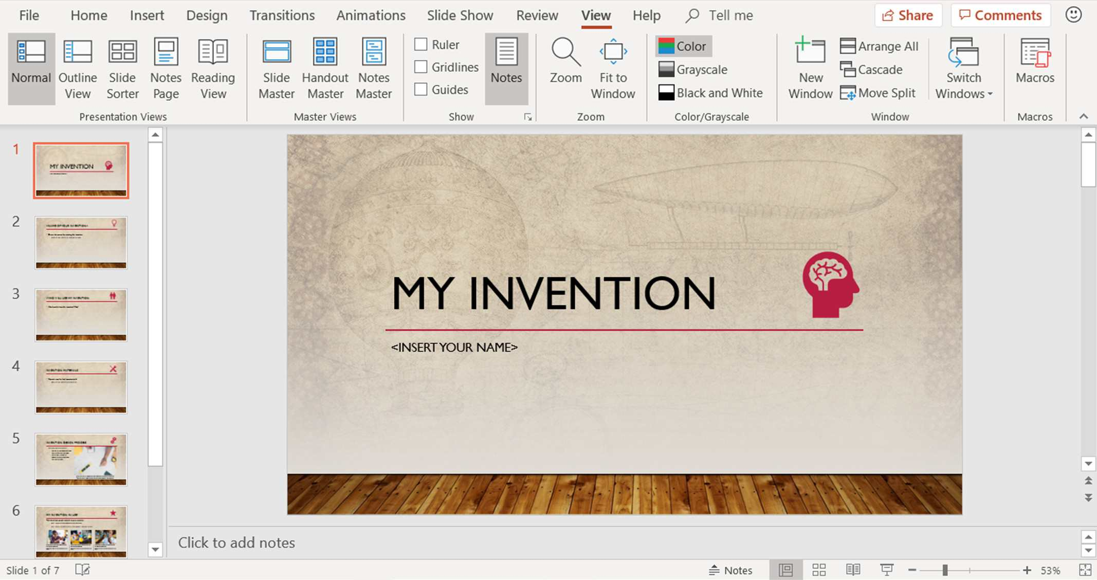 Different Ways to View PowerPoint Slides in PowerPoint