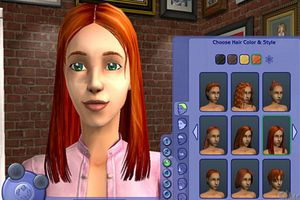 The Sims 2 editor