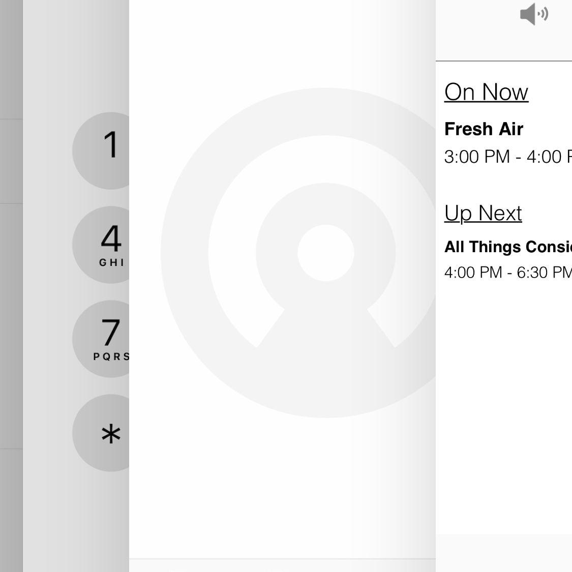 screenshot of using handoff in iOS 12