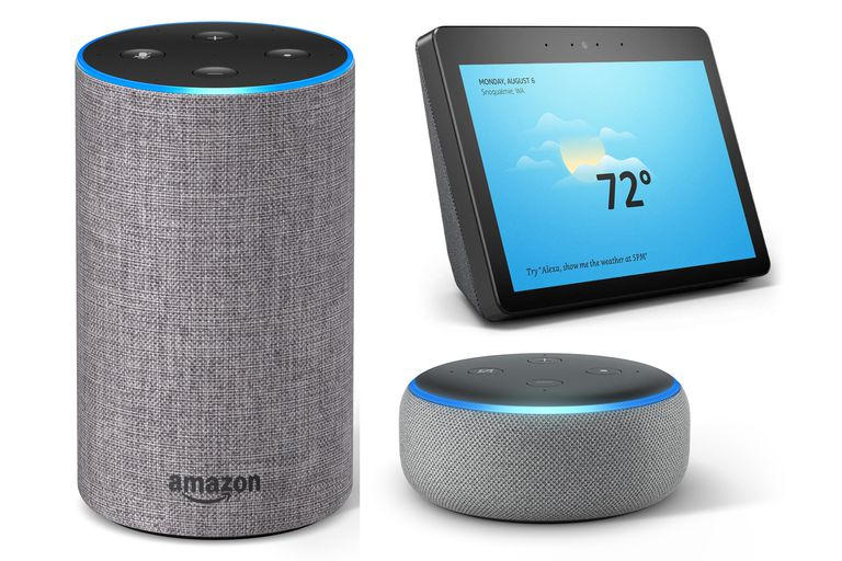 Amazon 2nd Generation Echo, Dot, and Show