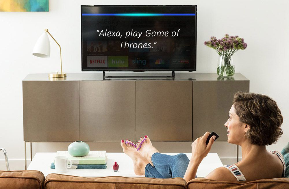 Using Alexa with a TV