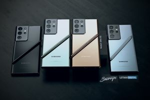 Samsung Galaxy Note 21 Ultra renders