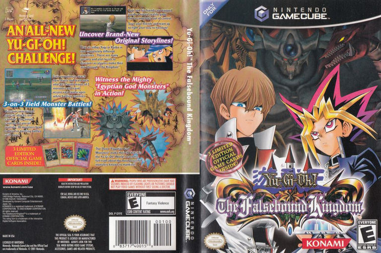 Yu Gi Oh Falsebound Kingdom Cheats For The Gamecube