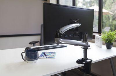 Ergotech Freedom Arm on a desk