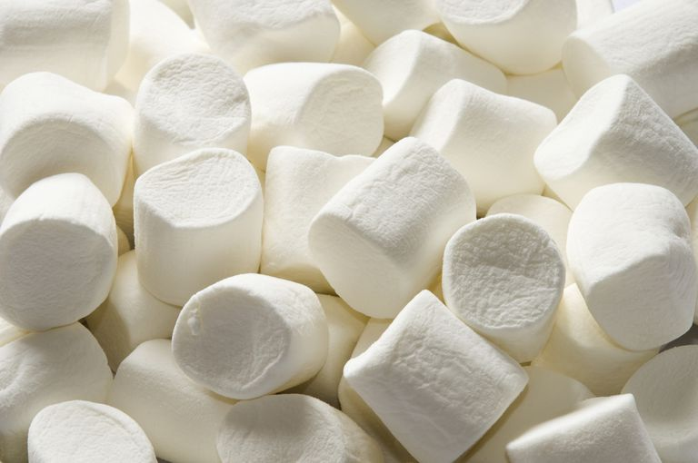 A pile of marshmallows