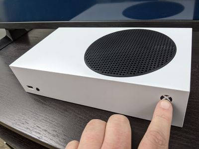 An Xbox Series S that won't turn on.
