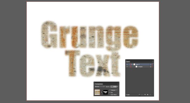 Grunge Text screenshot