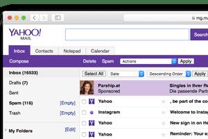 Yahoo! Mail Basic Screenshot
