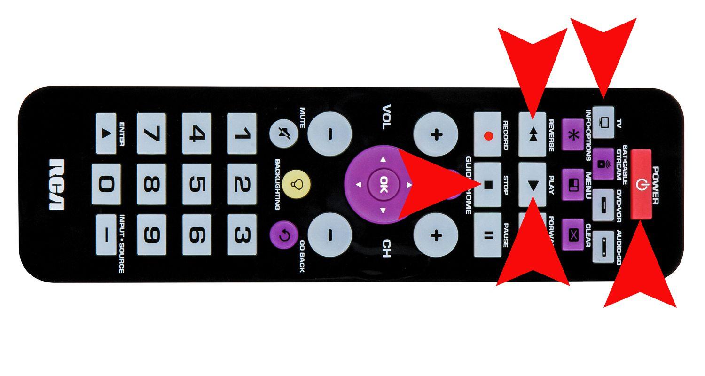 Universal Remote Auto Code Search Example