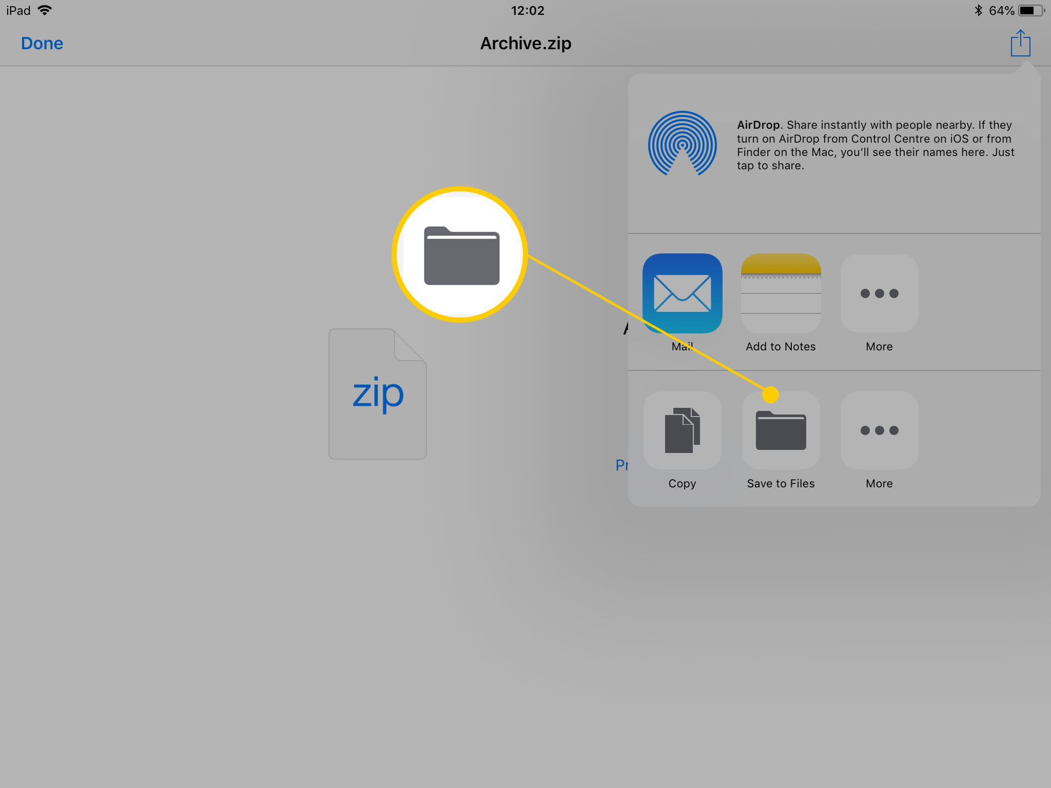 Where are downloads stored on my iPhone or iPad with iOS & iPadOS