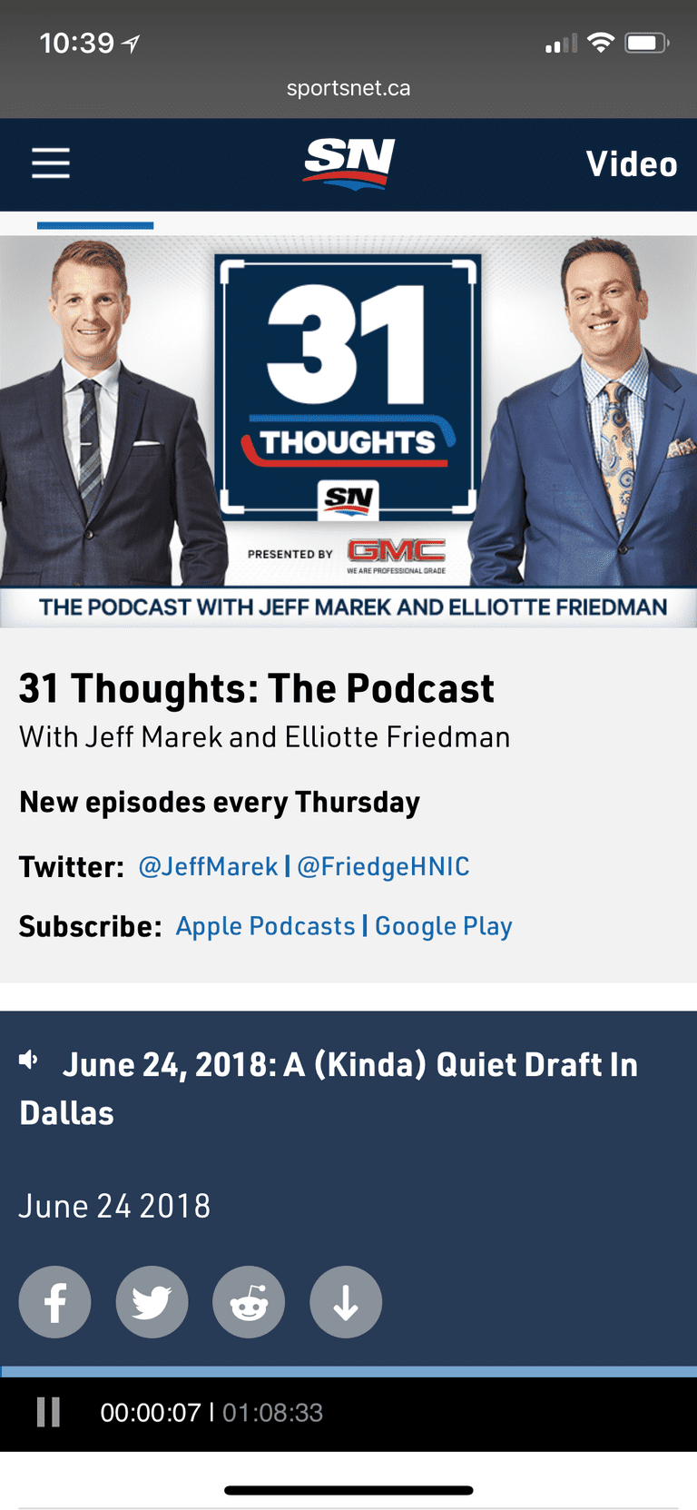 31 Thoughts podcast