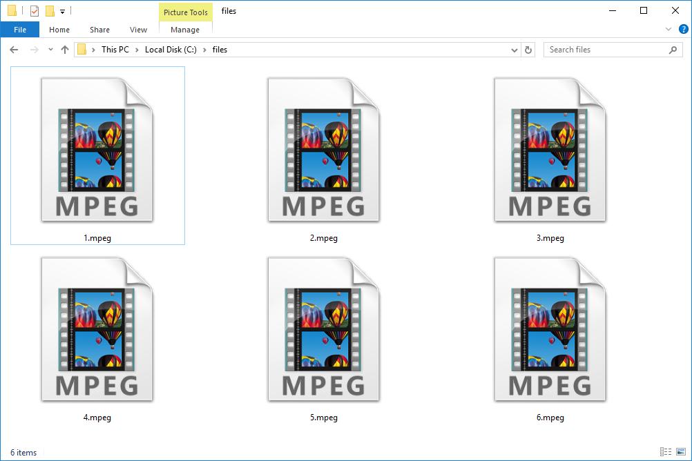 MPEG Files