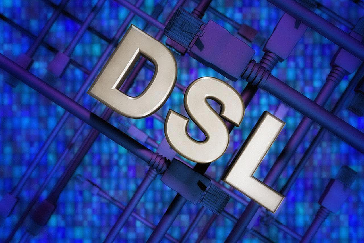 Dsl Digital Subscriber Line Internet Service Wiring