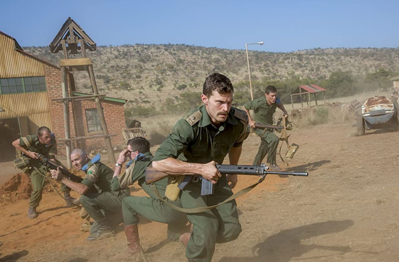 Screen captures from The Siege of Jadotville