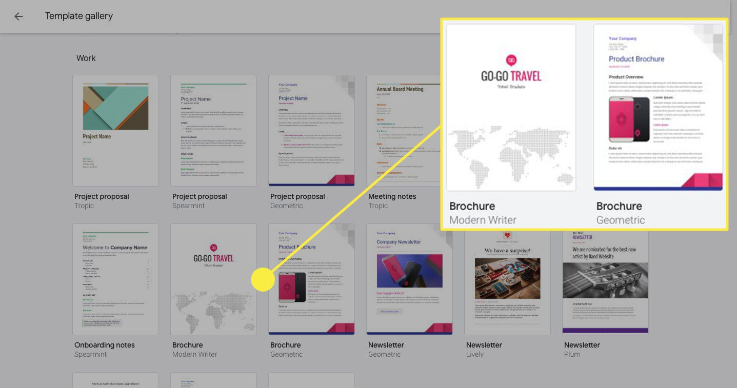 How to Use Google Docs Brochure Template