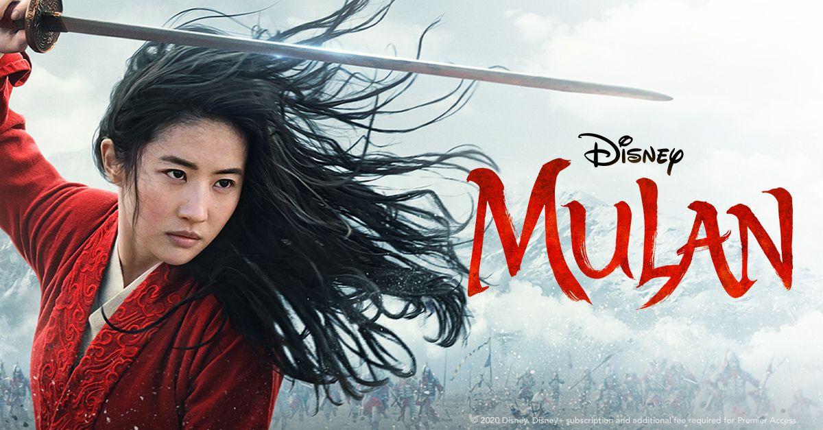 Yifei Liu in Disney's Mulan 2020