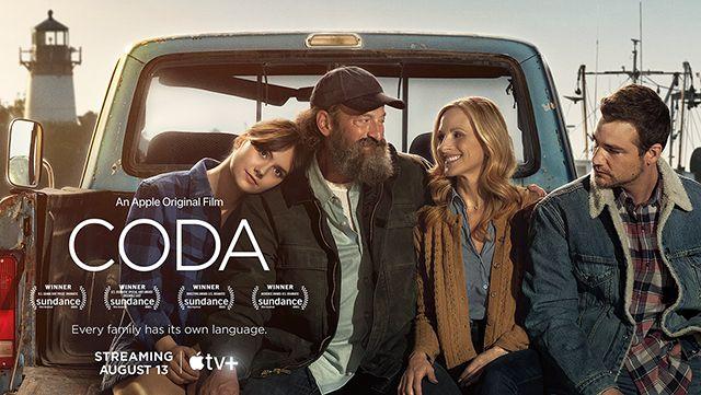 Key art for the Apple TV original film 'CODA'