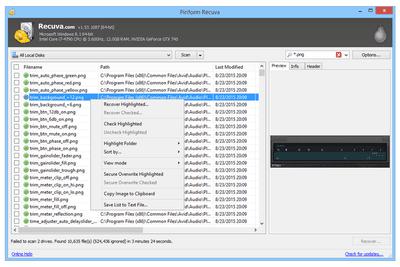 Recuva v1.53.1087 file recovery program