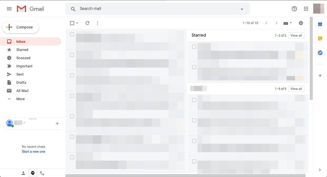 Side by side windows in gmail