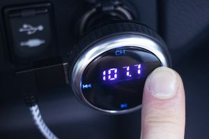 Aphaca Wireless Car Bluetooth FM Transmitter