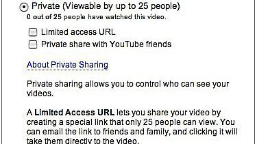 YouTube Privacy Settings