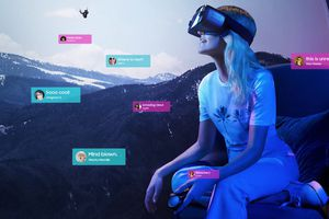 Samsung Gear VR and controller