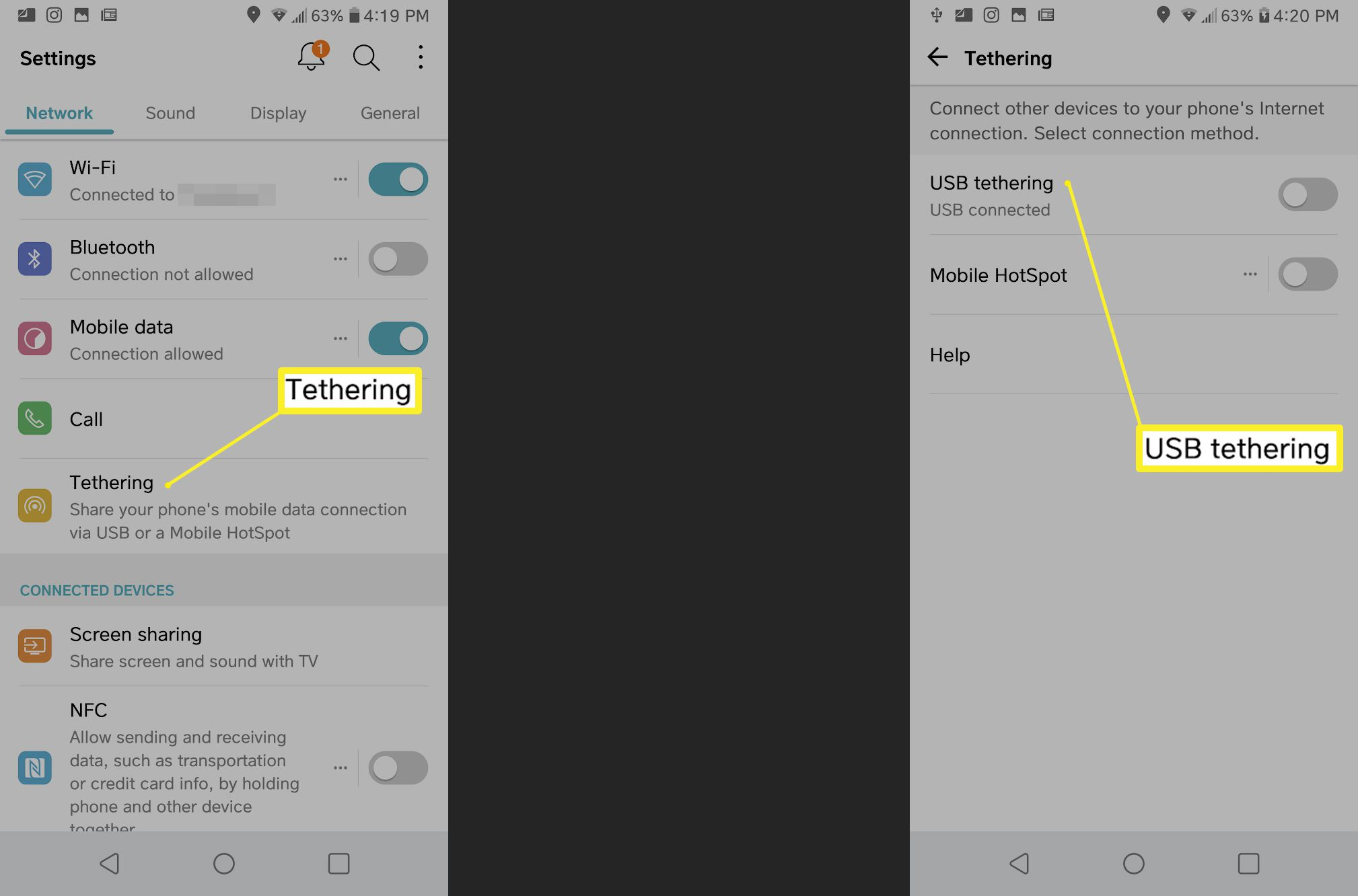 How To Set Up Usb Tethering On Windows 10