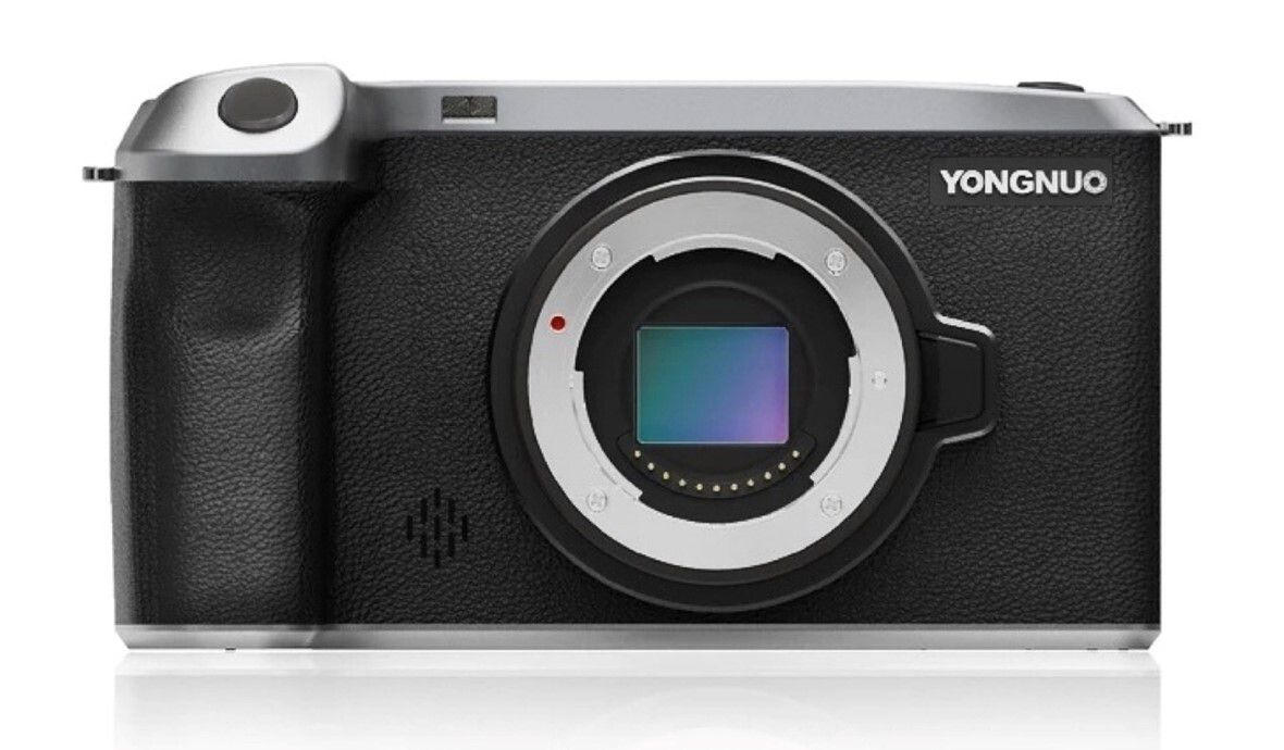 The Rongnuo interchangable lens camera.