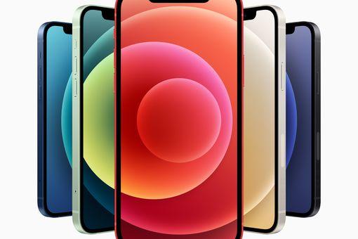 Apple iPhone 12 smartphones.