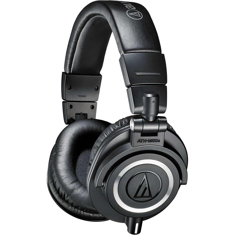 9388aaff4a4 Audio-Technica ATH-M50x Professional Studio Monitor Headphones