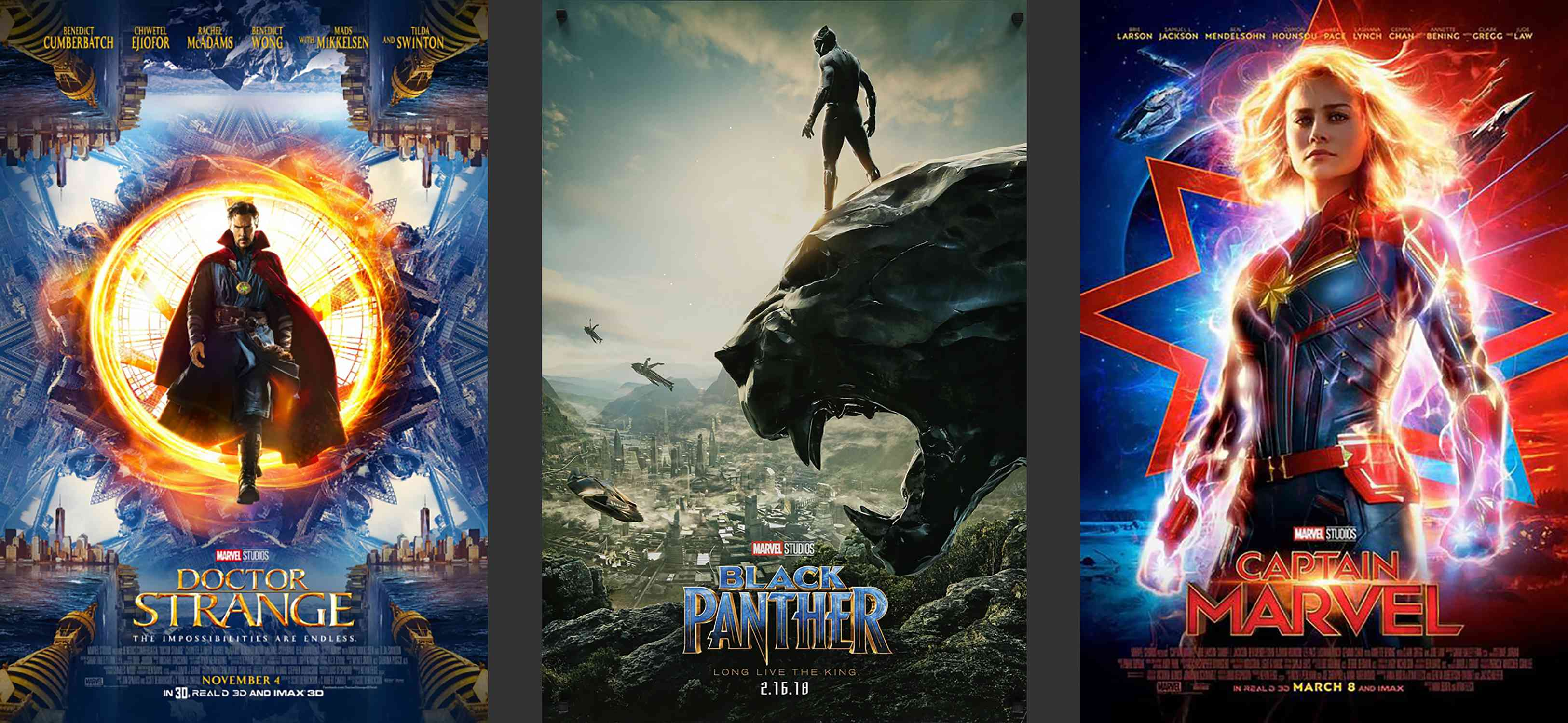 Marvel Movies Phase 3 Posters