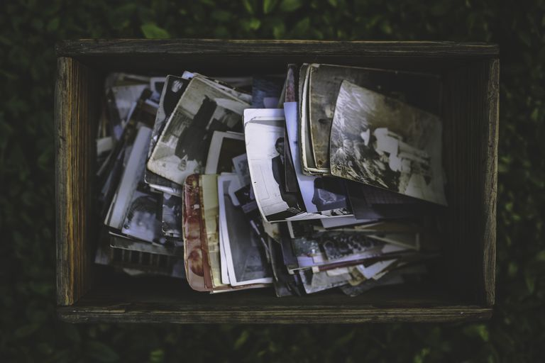 A box full of old memories
