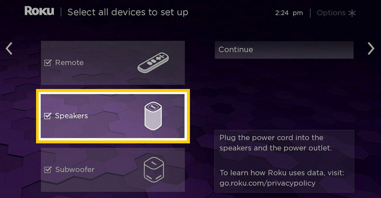 Roku Smart Soundbar Wireless Surround Speaker Pairing