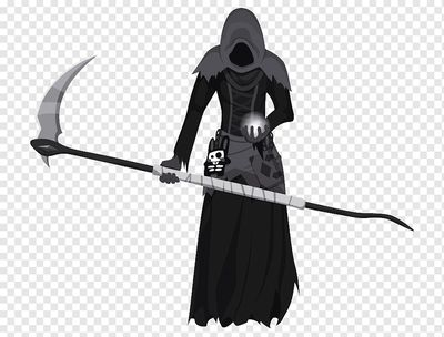 The Grim Reaper in Sims 3