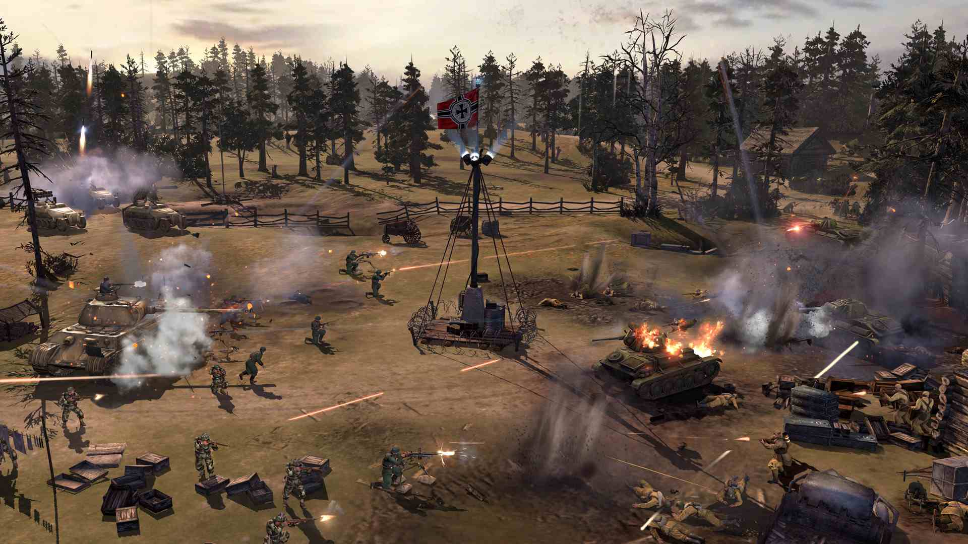 Overview Of The Company Of Heroes Series