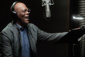 Samuel L. Jackson recording his voice