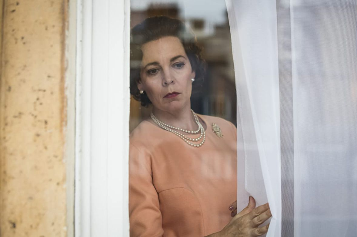 Olivia Coleman in 'The Crown.'