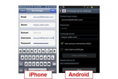 What Are the Gmail Exchange ActiveSync Settings?
