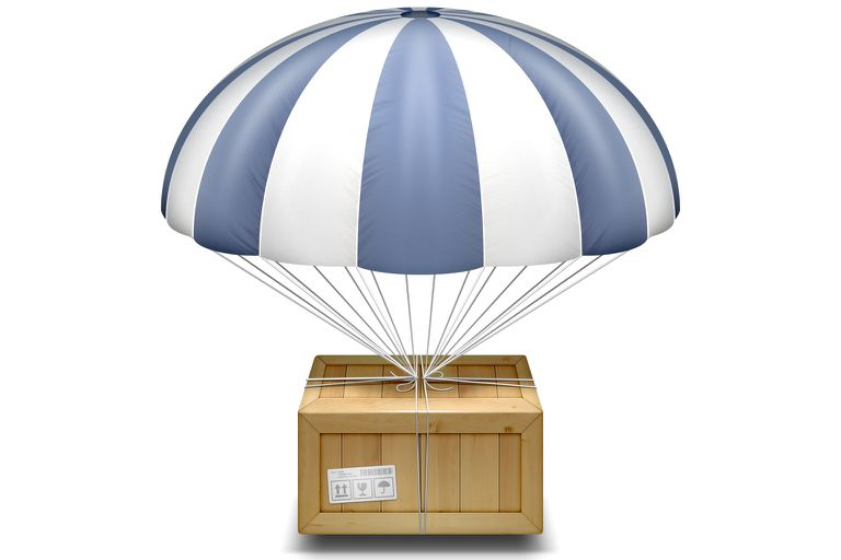 AirDrop file sharing service