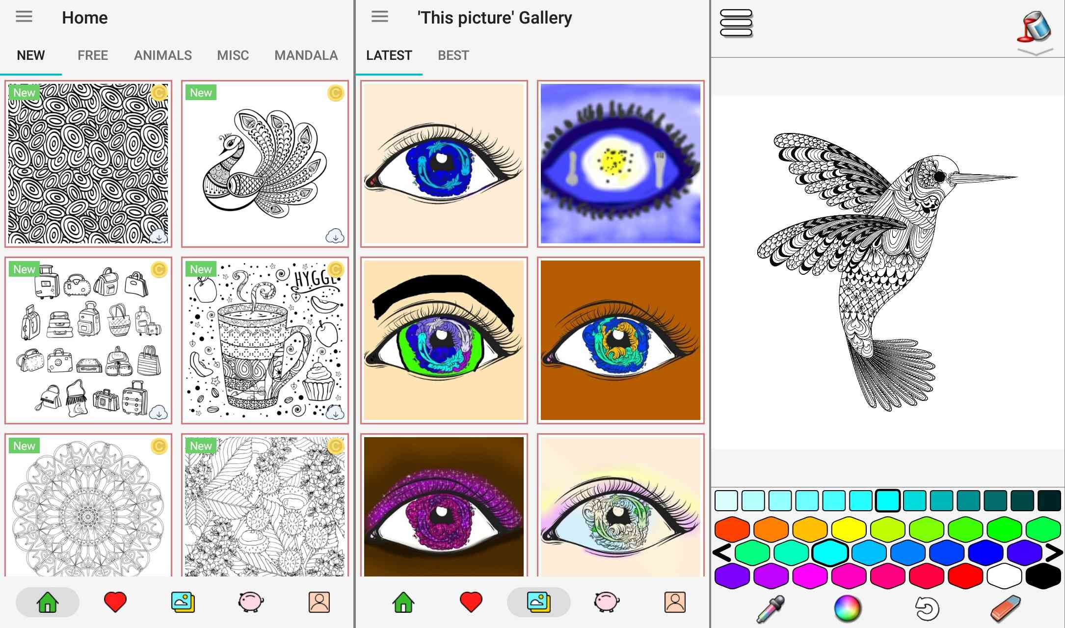 57+ Coloring Book App For Samsung Note HD