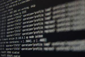 Screenshot of computer commands