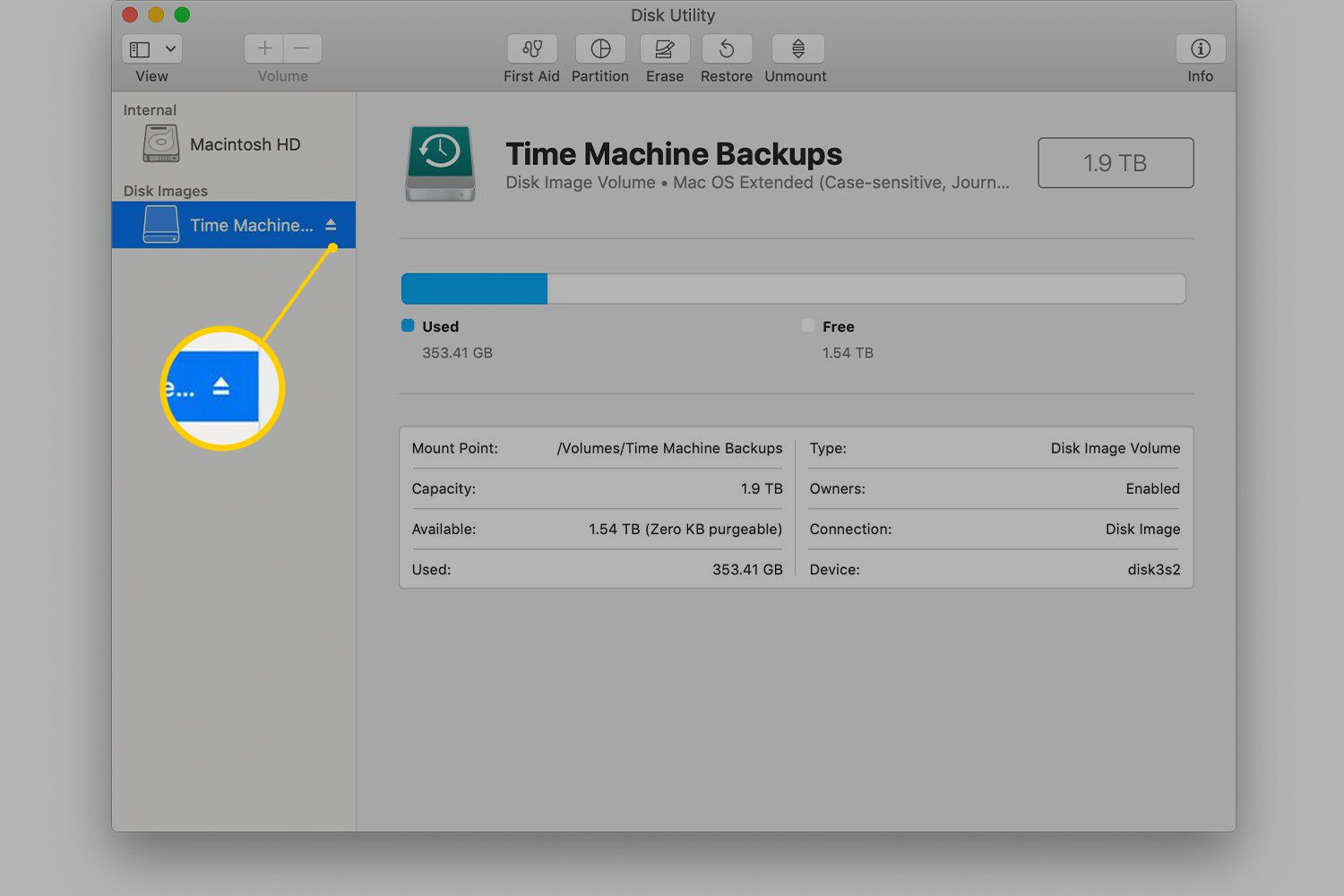 Fixing Time Machine Errors - Backup Volume Is Read Only