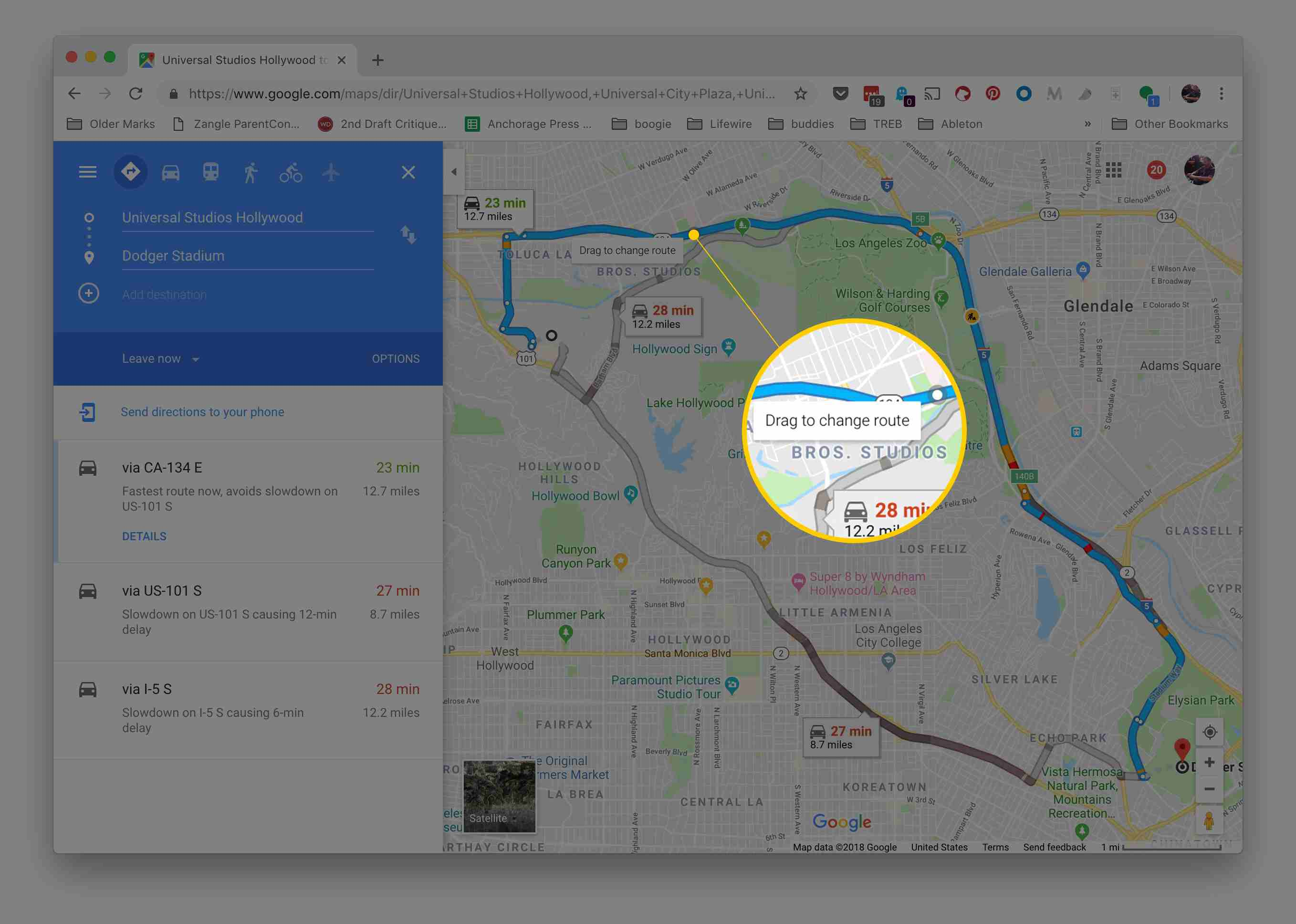 How to Plan an Alternate Route With Google Maps Drop Multiple Pins On Google Maps on
