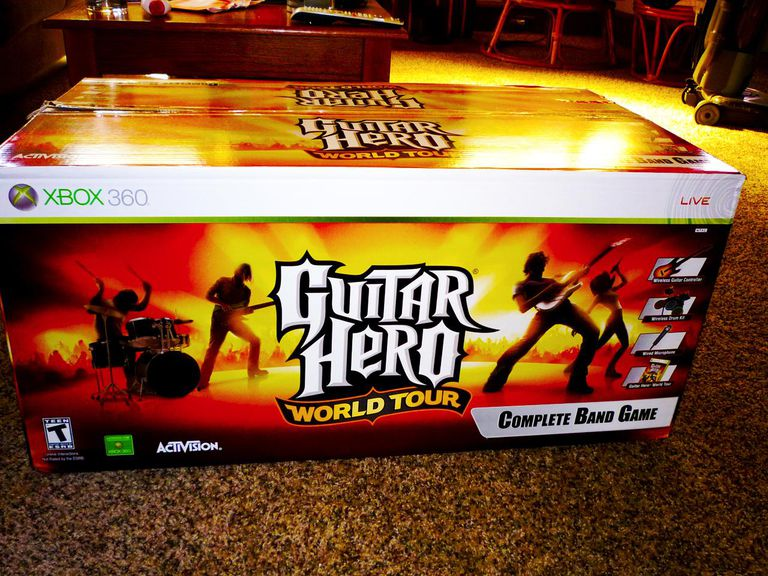 Cheats for Guitar Hero World Tour on the Xbox 360