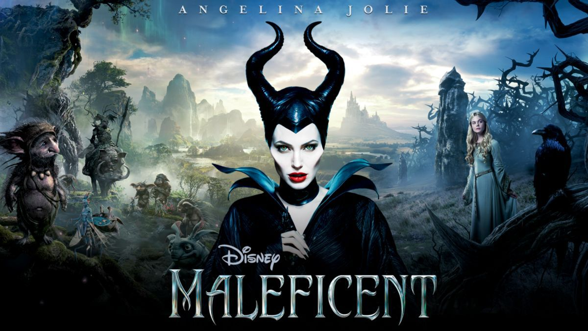Angelina Jolle in Maleficent