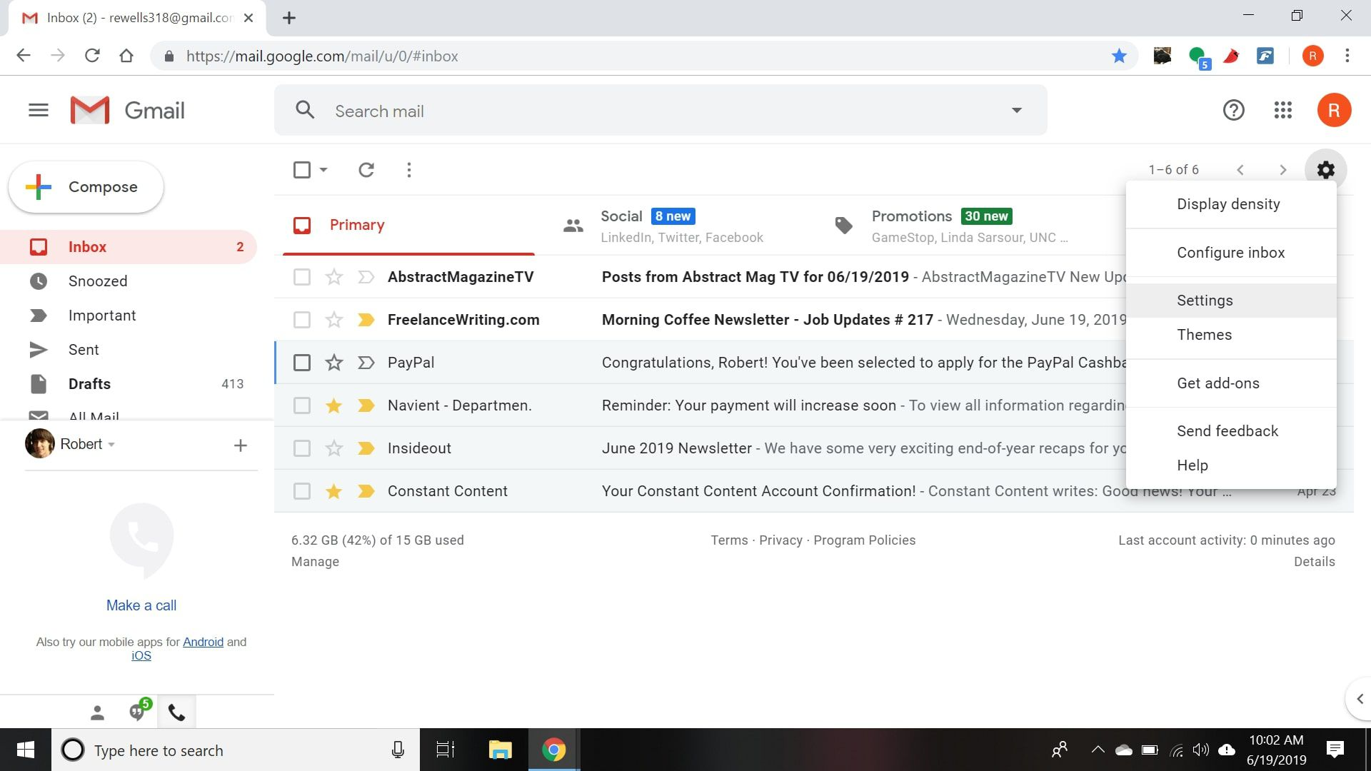 How to Get New Mail Desktop Notifications for Gmail
