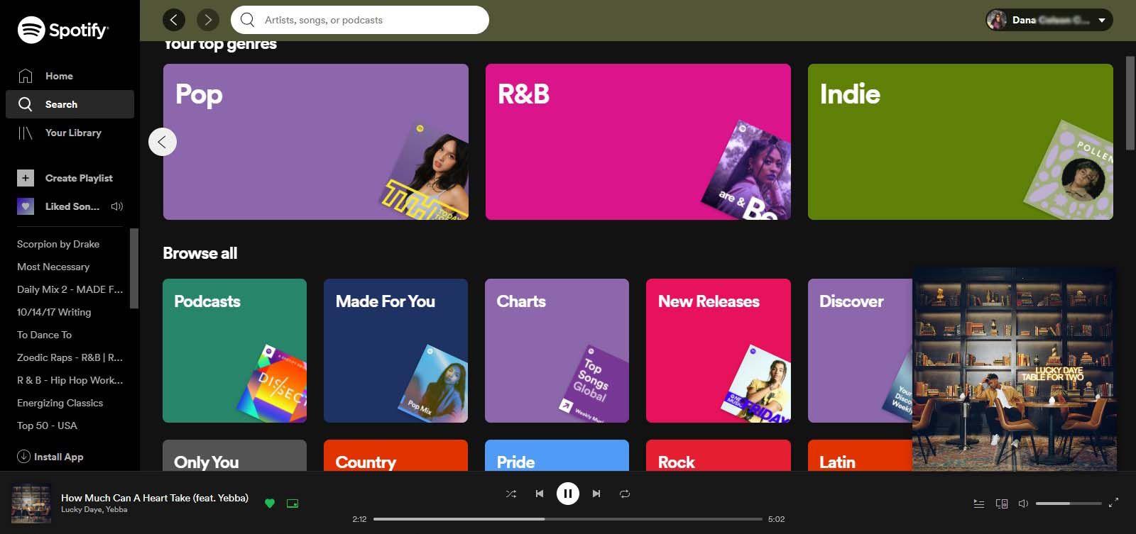 Spotify Chromebook app