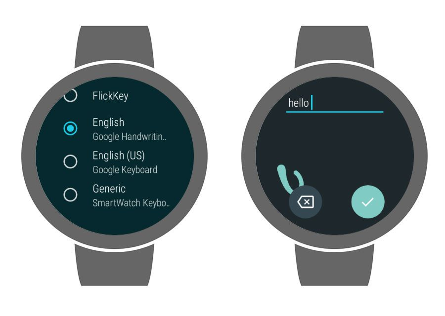 How to use handwriting on Wear OS.